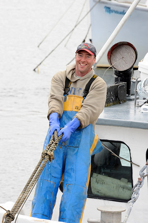 Capt. Jay VanDerpool of the fishing vessel Alyssa & Andrew. Photo by Peter K. Prybot
