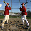 Gloucester: Gloucester baseball captains Brett Cahill and Conor Ressel will both be playing baseball for UMass Lowell next year. Photo by Kate Glass/Gloucester Daily Times