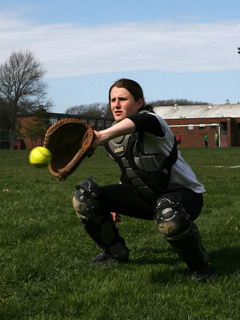Rockport: Rockport senior catcher Beccah Tibert is one of the key returning starters from last year's team. Photo by Kate Glass/Gloucester Daily Times