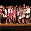 "The National Honor Society of Rockport High School inducted 18 new members at a special ceremony this week. The new members are: (From left to right) Alek Razdan, Kaylee Stanton, Nathan Cruz, Kristen Sanfilippo, Rachel Rowe, Sydney Colussi, Sara Carbone, Allie Pike, Katherine ""Kate"" Lawrenece, Emily Good, Emma Ottenheimer, Stasia Furber, JoAnna Peters, David Fox, Madison Larson, Madison Symes, Getey Anwar and Carolyn Tucker. Photo by Gail McCarthy/Gloucester Daily Times"