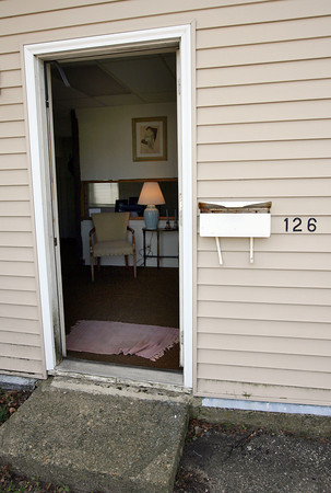 Gloucester: Several people are hoping to open the home of Gloucester poet Vincent Ferrini into a writing center. Photo by Kate Glass/Gloucester Daily Times