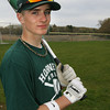 Keith Leavitt, an eighth grader who bats lead off and starts in center field for the Hornets. he has already hit three home runs playing against kids mainly much older. Photo by Kate Glass/Gloucester Daily TImes