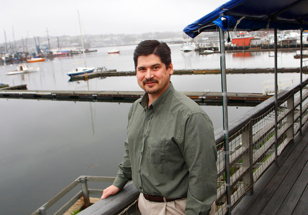 Gloucester: Local composer Robert Bradshaw is going to be traveling to Sydney this summer for the performance of some of his pieces at the 35th annual conference of the Interational Trumpet Guild. Mary Muckenhoupt/Gloucester Daily Times
