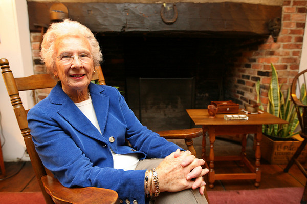 Gloucester: Jackie Littlefield of Gloucester is being honored during Wellspring House's 12th annual Women Honoring Women luncheon on Monday. Littlefield has been volunteering at Wellspring for 18 years. Photo by Kate Glass/Gloucester Daily Times