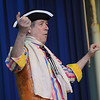 Gloucester:David Zucker performs for  National Poetry Month at East Gloucester Elementary school. Along with Zucker,  Gloucester Poet Laureate, Ruthanne Collinson, and Gloucester author/artist, Pat Lowery Collins dd reading and talked about the importants of poetry. Jim Vaiknoras/staff photo