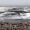 ALLEGRA BOVERMAN/Staff photo. Gloucester Daily Times. Rockport: A view of the surf at Cape Hedge Beach, close to Long Beach and Saratoga Creek on Monday.