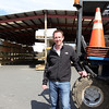 ALLEGRA BOVERMAN/Staff photo. Gloucester Daily Times. Gloucester: Chris Costello, owner of Timberline Enterprises, LLC, Lumber & Building Materials. The business is expanding into Newburyport.