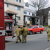 Gloucester:  Emergancy personal respond to a gas leak at 8 Prospect Street. The street was was blocked to traffic as firefighters evacuated homes in the area and vented the gas from the building. JIm vaiknoras/staff photo<br /> , Gloucester:  Emergancy personal respond to a gas leak at 8 Prospect Street. The street was was blocked to traffic as firefighters evacuated homes in the area and vented the gas from the building. JIm vaiknoras/staff photo