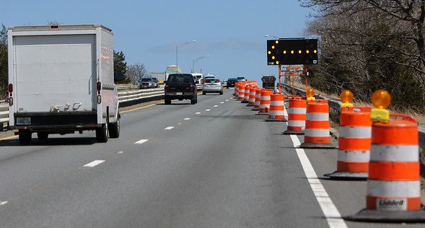 ALLEGRA BOVERMAN/Staff photo. Gloucester Daily Times. Gloucester: The A. Piatt Andrew Bridge as seen from Route 128 North.