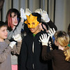 "Gloucester: Aurelio Silva as the Sun in ""The Enchanted Oak"" play at Plum Cove Elementary School Thursday. The play performed by the 4th and 5th grader at the school,is a collection of short stories directed by Jill Rogati and Nate Punches. Funded partly by the Gloucester Education Foundation."