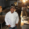 ALLEGRA BOVERMAN/Staff photographer. Gloucester Daily Times. Gloucester: Ohana owner and chef Enx Dadulas of Rockport will soon be opening the new eatery at 151 Main Street.