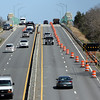 ALLEGRA BOVERMAN/Staff photo. Gloucester Daily Times. Gloucester: The A. Piatt Andrew Bridge as seen from the Crafts Road overpass over Route 128.