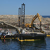 Pigeon Cove Breakwater Work