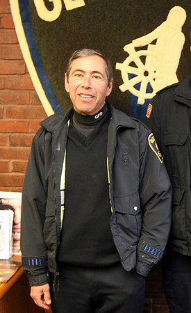 The funeral for Gloucester Police Officer Steve Amaral will be on Monday at Our Lady of Good Voyage at 9:30. Photo by Kate Glass/Gloucester Daily Times