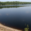 Gloucester: Sediment from the Babson Reservoir forced the DPW to shut down the water tratment facility over the weekend. Photo by Kate Glass/Gloucester Daily Times Monday, August 17, 2009