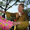 Gloucester: Anna Wickers enjoys shoping outside of The Dress Code at Gloucester Sidewalk Days on Saturday afternoon. <br /> Photo by Silvie Lockerova/Gloucester Daily Times