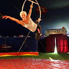 Rockport: Susan Vidbel-Ashton will be performing an aerial routine at the Vidbel Circus behind the Rockport Elementary School this weekend. Photo by Kate Glass/Gloucester Daily Times Thursday, August 20, 2009