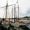 Gloucester: The Westward, the Spirit of Boston and the Virginia were docked at Jodrey State Fish Pier Friday. The Virginia left Friday but will be returning for the Schooner Festival while the others are here for repairs. Mary Muckenhoupt/Gloucester Daily Times