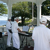 Rockport: Cape Ann Jazz Band plays music at the Lobsterfest on Saturday morning.<br /> Silvie Lockerova/Gloucester Daily Times