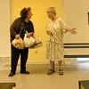 "Gloucester: Jennifer Lee Levitz, left, and Sarah Clark, right, will be performing Clark's play, ""Loving Hearts,"" at the Lanesville Community Center Friday through Sunday at 7:30."