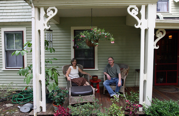 Rockport: Pat and John Beckwith, who lease the Glenledge Cottage at Halibut Point State Park, will be holding an open house this Saturday from 11-2. Photo by Kate Glass/Gloucester Daily Times