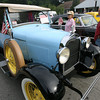 Rockport: Peggy and Bruce Young check out a 1928 Model A Ford owned by Ken Herdman of Gloucester during Den-Mar Rehab and Nursing Center's Antique Car Show on Tuesday. The show also featured a DJ and cookout. Photo by Kate Glass/Gloucester Daily Times