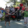 Essex: Adeline Abell, 1 year, and Liam Monks, 3, dance to the music of The Snake Oil Jug Band at the 17th Essex Music Fesyival at Centennial Grove Saturday afternoon.  Over 20 bands played at the fest which lasted all day and into the night. Mary Muckenhoupt/Gloucester Daily Times