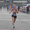 Gloucester:  Laci Alves finishes third in the Run Gloucester 7 mile on Sunday August 21,2011. Desi Smith /Gloucester Daily Times. August 21,2011