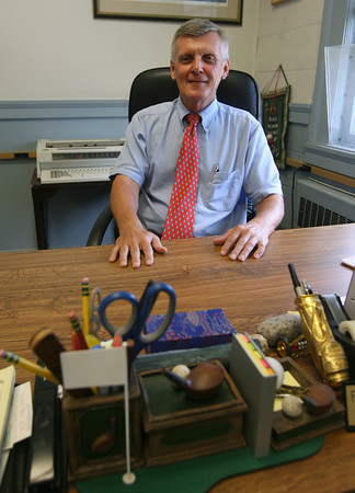 Frederick Frithsen, who has been the Town Clerk in Rockport for 37 years, will be retiring at the end of the month. Photo by Kate Glass/Gloucester Daily Times