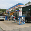 The Gulf station on East Main Street has the lowest gas prices on Cape Ann at $3.69 a gallon for regular unleaded. Photo by Kate Glass/Gloucester Daily Times
