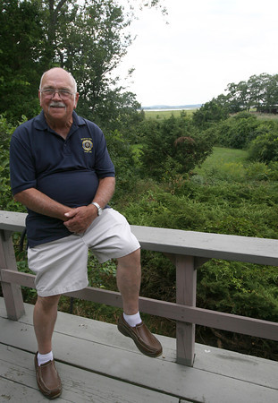 John Amirault, who has lived on Conomo Point year-round for over 20 years, is worried the bridge lease will be too expensive for him as he is retired and on a fixed income. Photo by Kate Glass/Gloucester Daily Times