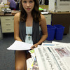 "Julia Whitten of Essex fills in as Gloucester Daily Times ""Editor for a Day."""
