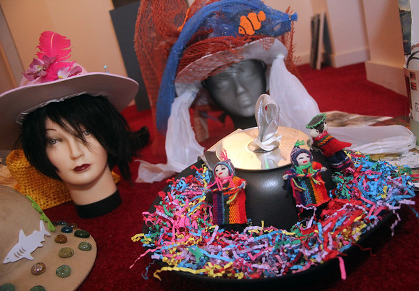 """ALLEGRA BOVERMAN/Gloucester Daily Times The Cultural Center at Rocky Neck presents """"Pass the Hats"""" - a Gala Celebration of Gloucester's Rocky Neck Cultural District on Friday, August 17, from 6-10 pm. at 6 Wonson St. in Gloucester."""