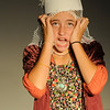 Jim Vaiknoras/Gloucester Daily Times: Teale Baily as Mrs Thorin in The Page: The untold story of Samantha Elizabeth Collins, at Summer Playcamp at the Annie in Gloucester.