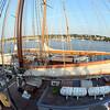 Desi SmithGloucester Daily Times The Spirit of Massachusetts is docked at Maritime Gloucester in Harbor Loop for the Schooner Festival.