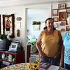 MARIA UMINSKI/Gloucester Daily Times. Mary Ann Camp stands in her apartment, at Rockport High School Apartments, with her long time friend Margaret Williams. Camp and Williams have known eachother since they were roommates at Hendrick Memorial Hospital School of Nursing in Texas. Williams moved up from Florida to live in the apartment complex with Camp.