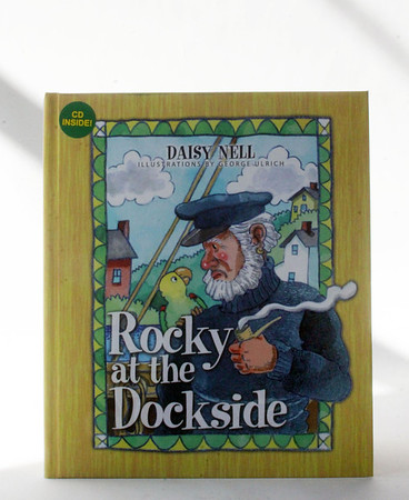 ALLEGRA BOVERMAN/Gloucester Daily Times Essex resident Daisy Nell has written another children's book about a parrot that likes to go sailing on the sea.