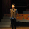 """Jim Vaiknoras/Gloucester Daily Times. Zach Dasilva as Schlomo in irehearsal for """"Fame Junior""""  with O'Maley Middle School Drama Camp Thursday. The performance is at noon on Friday, at the Middle School, admission is free."""
