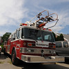 Jim Vaiknoras/Gloucester Daily Times: <br />   One of 2 decomissioned fire truck at the Gloucester DPW yard.