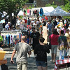Gloucester: Shoppers and venders fill Main Street during the 54th annual Gloucester Sidewalk Bazaar. Jim Vaiknoras/staff photo