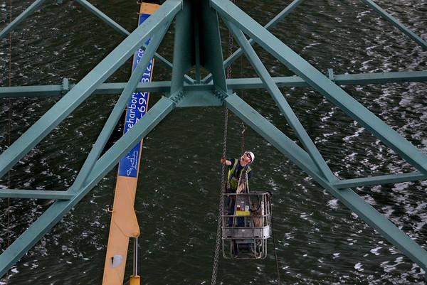 Annisquam River Bridge Work