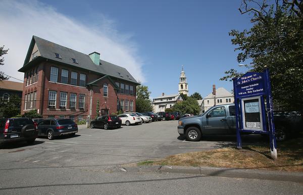 St. John's Parking Lot