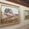 Rockport: Paintings by local artist Jeff Weaver hang in the Rockport Art Association. Mary Muckenhoupt/Staff Photo