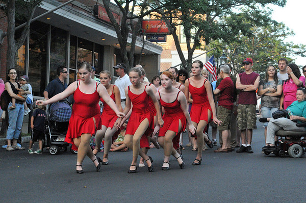 Gloucester: Dancer's of Cape Ann Center for Dance,performs at Main St Block Party held Saturday afternoon.Desi Smith Photo/Gloucester Daily Times.July 18,2009