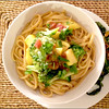 Heather Atwood/Special to the Times<br /> Whip up a Thai-influenced dinner by tossing hot noodles and vegetables with a jar of Jen's Twisted Saucefrom Bonne Bouche caterer Jen Sanford of Wenham.