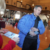 Republican senate candidate Scott Brown talks with people at City Hall while campaigning in Gloucester. Brown, who is runnign against Martha Coakley for the senate seat, was touring various spots in Gloucester with Bruce Tarr Saturday afternoon. Mary Muckenhoupt/Gloucester Daily Times