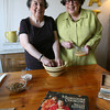 Sheila and Marilynn Brass. Photo by Kate Glass/Gloucester Daily Times