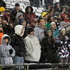 Foxborough: Gloucester fans cheer as the Fishermen play Bridgdewater-Raynham in the Division IA Superbowl at Gillette Stadium on Saturday night. Photo by Kate Glass/Gloucester Daily Times