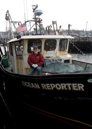 Rockport: Captain Bill Lee of the Ocean Reporter recently sold his fishing permit after working for 36 years as a commercial fisherman. Photo by Kate Glass/Gloucester Daily Times Tuesday, December 7, 2009