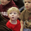 "Essex: Libby Mulry, 4, listens intently to ""The Nutcracker"" read by librarian April Wanner during the Nutcracker celebration held at the TOHP Burnham Library Saturday afternoon. Mary Muckenhoupt/Gloucester Daily Times"